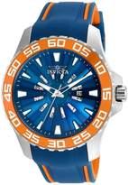 Invicta Men's Pro Diver Polyurethane Band Steel Case Quartz Watch 25475