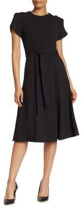Calvin Klein Tulip Sleeve Dress