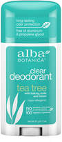 Alba Tea Tree Deodorant Stick by 2.0 oz Stick)