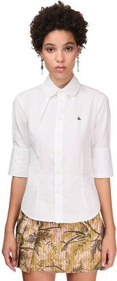 Vivienne Westwood Fitted Cotton Poplin Shirt