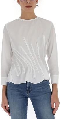 Marni Stitched Panel Buttoned Blouse