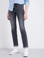 Levi's 714 straight mid-rise jeans
