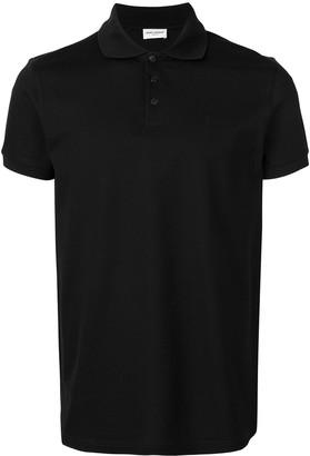 Saint Laurent short-sleeve polo shirt