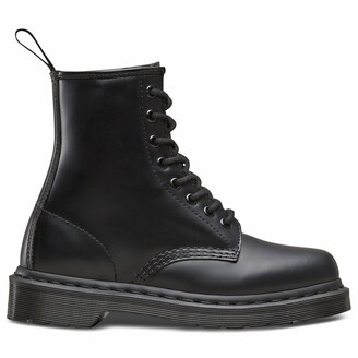 Dr. Martens 1460 Leather Chunky Ankle Boots with Lace-Up Fastening