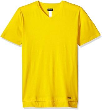 Hanro Men's River Short Sleeve V-Neck Shirt