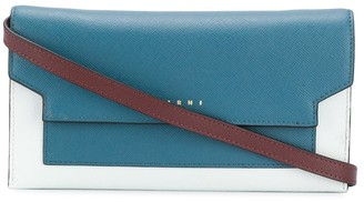 Marni Colour-Block Panelled Clutch Bag