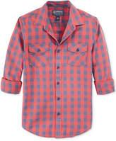 American Rag Men's Banarama Checked Shirt, Only at Macy's