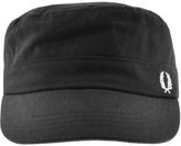 Fred Perry Canvas Cadet Cap Black
