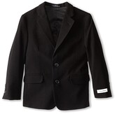 Calvin Klein Kids Suit Jacket (Little Kids) (Black) Boy's Jacket