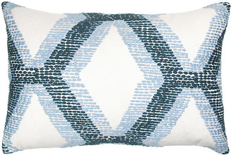 The Piper Collection Kandice 14x20 Lumbar Pillow - Blue
