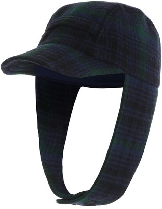Woolrich Wool Plaid Hunting Hat