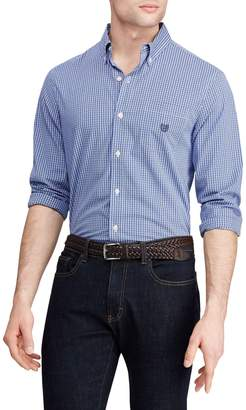 Chaps Big Tall Classic-Fit Stretch Easy-Care Shirt