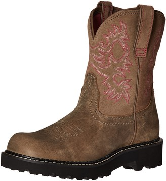Ariat Women's Fatbaby Collection Western Cowboy Boot Pink Bomber 7.5 B US