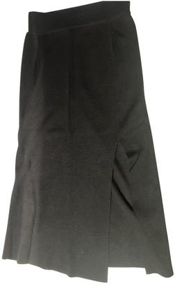 81 Hours 81hours Black Wool Skirt for Women