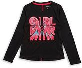 Reebok Girls 7-16 Girl Power Athletic Tee