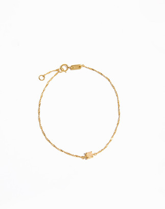 Madewell Delicate Collection Demi-Fine Opal Chain Bracelet