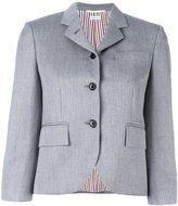 Thom Browne three-button blazer - women - Silk/Wool - 36