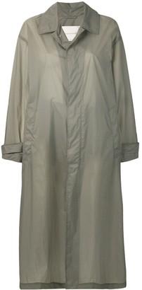 MACKINTOSH Slate Nylon Oversized Coat LM-100B
