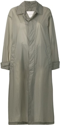 MACKINTOSH Slate Nylon Oversized Coat LM-100B