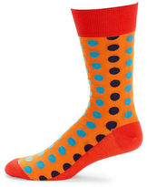 Hot Sox Ombre Dots Socks