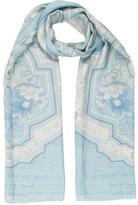 Louis Vuitton Cashmere & Silk-Blend Shawl