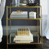 west elm Terrace Nightstand - Antique Brass