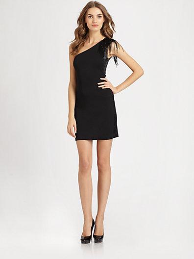 Halston Asymmetrical Dress