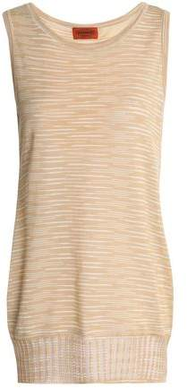 Missoni Crochet-Knit Cotton Top