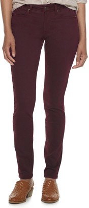 Sonoma Goods For Life Women's Supersoft Midrise Sateen Skinny Pants