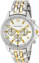 Vernier Women's VNR11158TT Analog Display Japanese Quartz Two Tone Watch