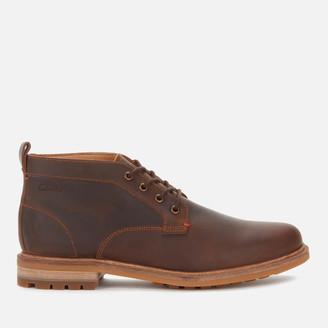 Clarks Men's Foxwell Mid Leather Chukka Boots