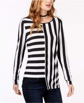 INC International Concepts I.n.c. Petite Asymmetrical Top, Created for Macy's