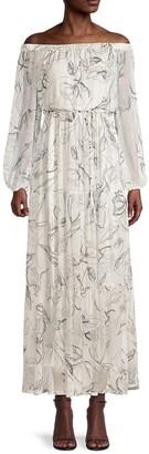 Pierce Off-The-Shoulder Maxi Dress