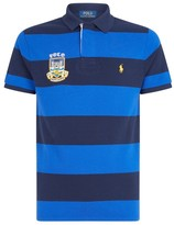 Ralph Lauren Crest Stripe Polo Shirt