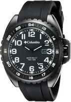Columbia Men's CA003-001 Lumen Analog Display Quartz Black Watch