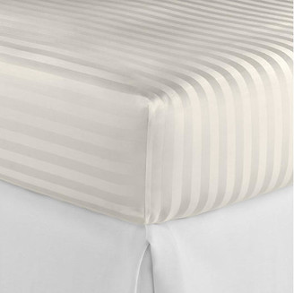 Peacock Alley Duet Fitted Sheet - Ivory Cal King
