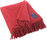 Lexington Company Lexington Icons Solid Wool Throw Red