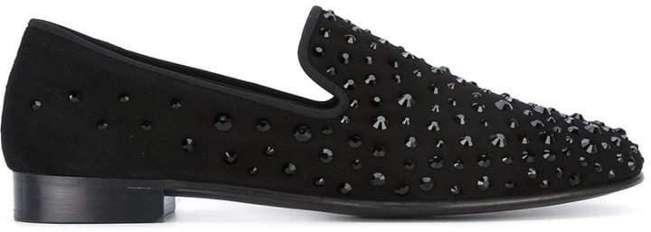 Giuseppe Zanotti Design studded slippers
