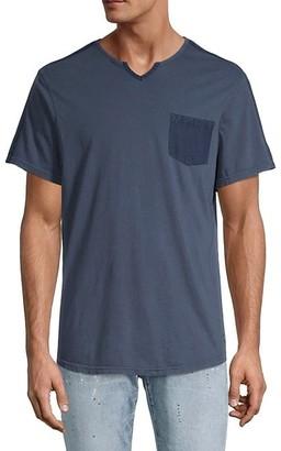 Buffalo David Bitton Kodak Split-Neck T-Shirt