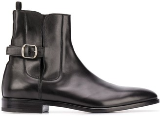 Premiata Buckle Ankle Boots