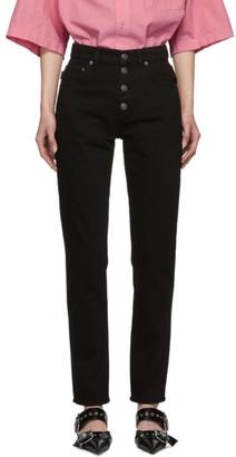Balenciaga Black Standard Jeans