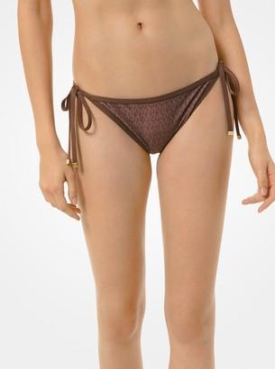 MICHAEL Michael Kors Logo Bikini Bottom