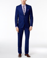 Ben Sherman Men's Slim-Fit Blue Suit