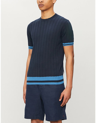 Orlebar Brown Lyre silk and cotton-blend T-shirt