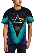 Liquid Blue Men's Pink Floyd Dark Side V-Dye T-Shirt