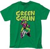 Impact Marvel Men's Goblin Classic Fitting Cotton T Shirt Kelly