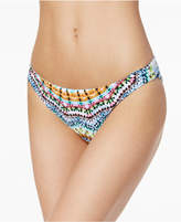 Bar III Tulum Tie-Dyed Reversible Cheeky Bottoms, Created for Macy's Women's Swimsuit