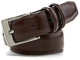 Class Club Double Buckle Leather Belt