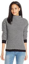Sanctuary Women's Roller Mock Sweater