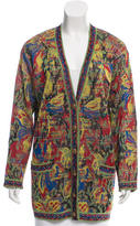 Missoni Abstract Patterned Oversize Cardigan